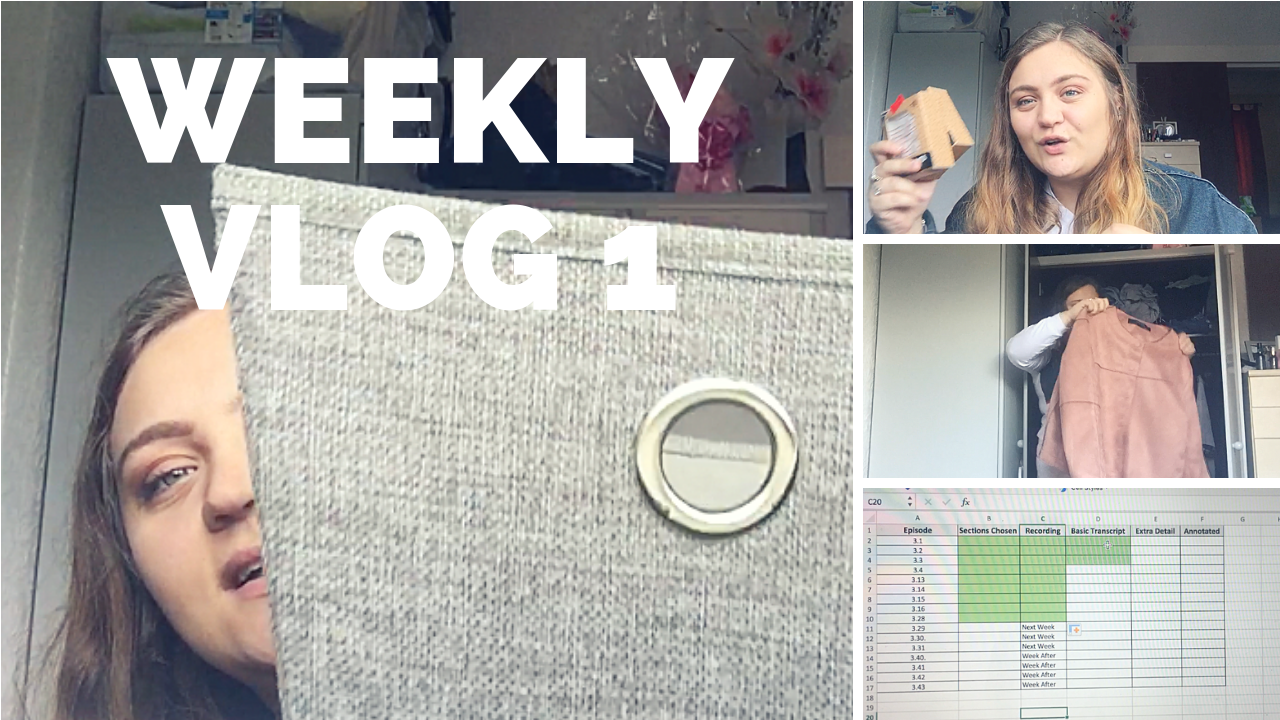 Weekly 1; Shopping, Packing, And Going Back to Uni!