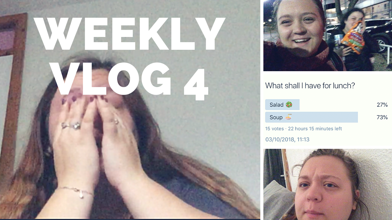 Weekly 4; A Much Needed Chat, And Twitter Controls My Day!