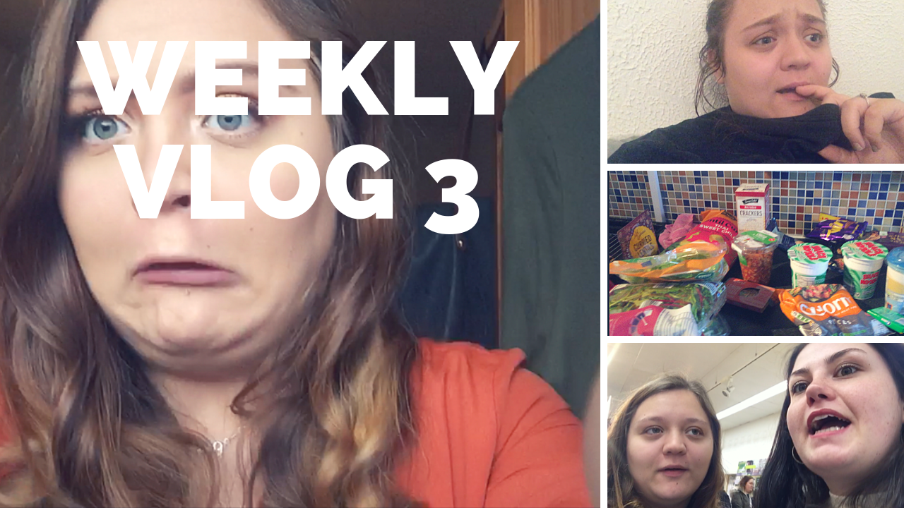 Weekly 3; Travelling, Crying, Stressing, Shopping And A Good Dessert, Too